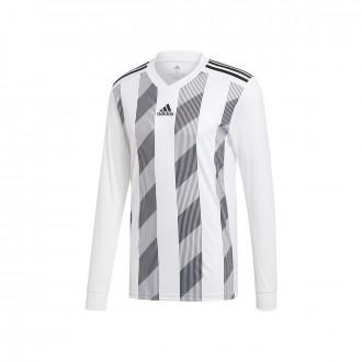 Camisola  adidas Striped 19 m/l White-Black