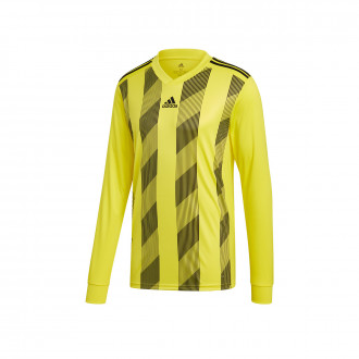 Maillot  adidas Striped 19 m/l Bright yellow-Black