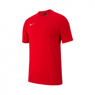 Maglia  Nike Club 19 m/c Niño University red-White