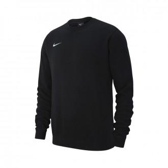 Sudadera  Nike Club 19 Crew Niño Black-White