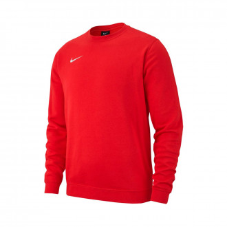 Sudadera  Nike Club 19 Crew Niño University red-White