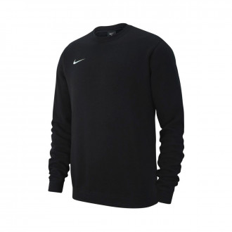 Sudadera  Nike Club 19 Crew Black-White