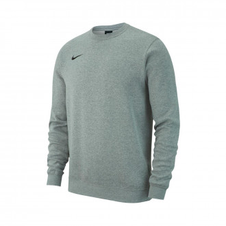 Sudadera  Nike Club 19 Crew Dark grey-White