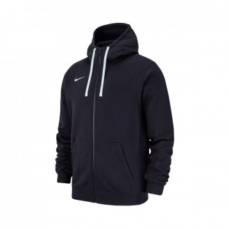 Giacca  Nike Club 19 Full-Zip Hoodie Niño Black-White