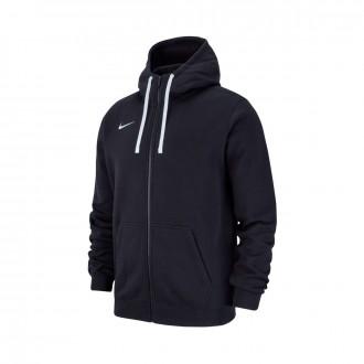 Chaqueta  Nike Club 19 Full-Zip Hoodie Niño Black-White