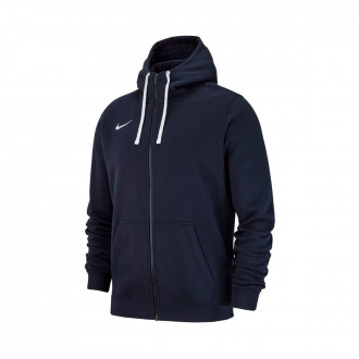 Veste Nike Club 19 Full-Zip Hoodie enfant Obsidian-White