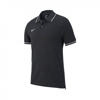 Polo shirt  Nike Club 19 m/c Charcoal heather-White