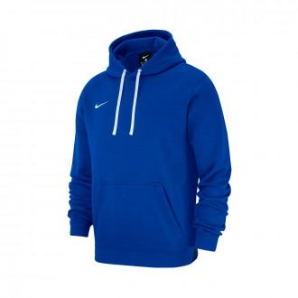 Sweatshirt  Nike Club 19 Hoodie Crianças Royal blue-White