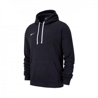 Sweatshirt  Nike Club 19 Hoodie Crianças Black-White