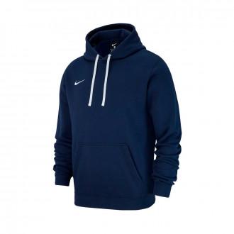 Sweatshirt  Nike Club 19 Hoodie Crianças Obsidian-White