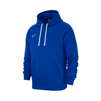 Sweatshirt Nike Club 19 Hoodie Royal blue-White