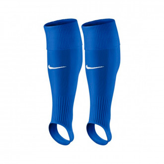 Football Socks Nike Stirrup Royal blue-White