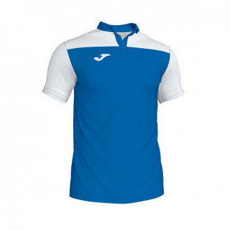 Polo shirt  Joma Crew III m/c Royal-White