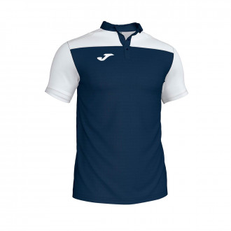 Polo shirt  Joma Crew III m/c Navy blue-White