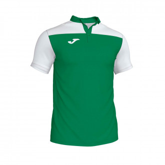 Polo shirt  Joma Crew III m/c Green-White