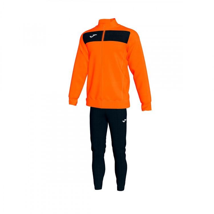Tracksuit Joma Academy II Orange Black Football store