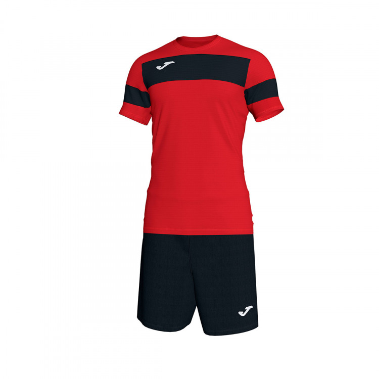 629f1c5b70a Kit Joma Academy II m c Red-Black - Leaked soccer