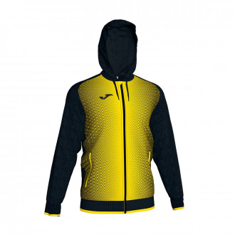 Jacket  Joma Supernova Black-Yellow