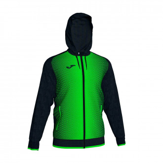 Jacket  Joma Supernova Black-Verde flúor