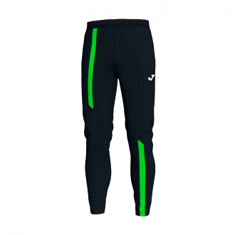 Long pants   Joma Supernova Black-Verde flúor