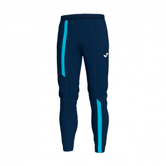 Long pants  Joma Supernova Navy blue-Turquesa flúor