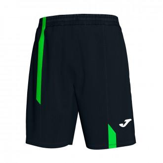 Bermuda Shorts  Joma Supernova Black-Verde flúor