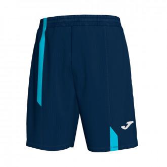 Bermuda Shorts Joma Supernova Navy blue-Turquesa flúor