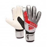 Luvas Predator Training FingerSave Silver metallic-Black