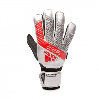 Glove  adidas Predator Training FingerSave Silver metallic-Black