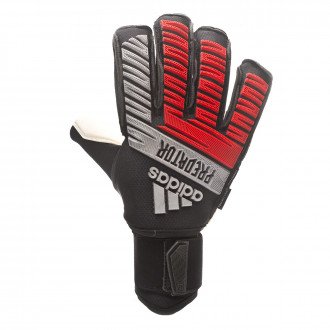 Glove  adidas Predator Ultimate Black-Silver metallic-Hi-Res red