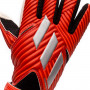 Guante Nemeziz Training Active red-Silver metallic-Solar red
