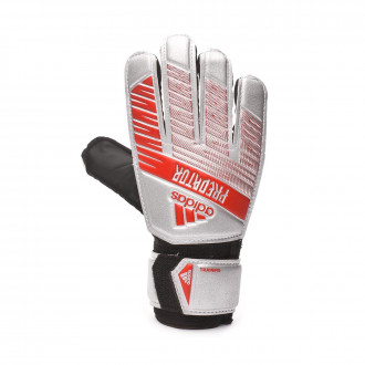 Glove  adidas Predator Training Niño Silver metallic-Black