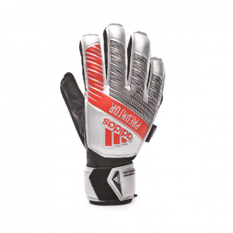 Gant  adidas Predator Training FingerSave enfant Silver metallic-Black
