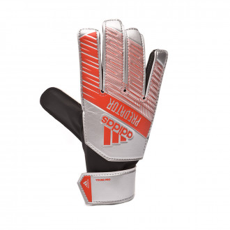 Glove  adidas Predator YP Silver metallic-Black