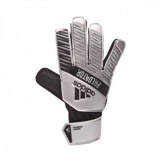 Glove adidas Predator Training Niño Silver metallic-Black