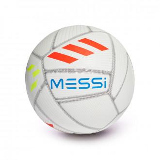 Balón adidas Messi Capitano 2018-2019 White-Crystal white-Football blue-Solar red