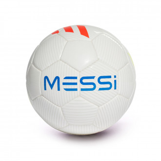 Balón adidas Messi Mini 2018-2019 White-Solar red-Solar yellow-Football blue