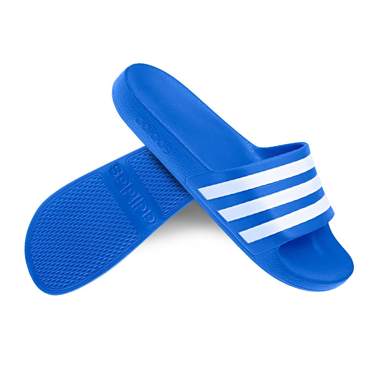 Rectángulo Problema bolso  Chanclas adidas Adilette Aqua Royal - Tienda de fútbol Fútbol Emotion