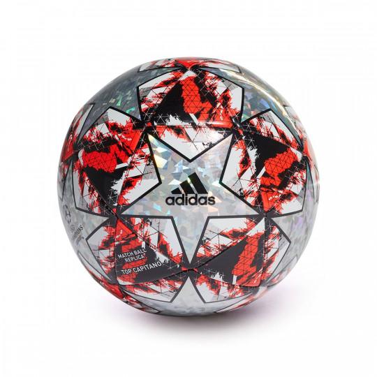 Balón adidas Finale 19 Top Capitano Multicolor HiRes red Black Silver metallic