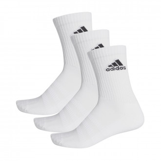 Socks adidas Cush CRW (3 pares) White
