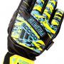 Guante Predator TT Fingersave MN Niño Solar yellow-Bright cyan-Black