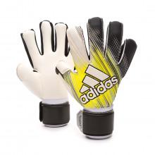 Guante Classic League Black-Solar yellow-White