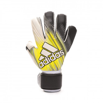 Guante adidas Classic League Black-Solar yellow-White