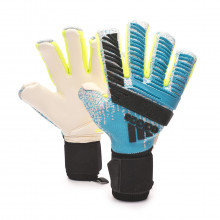Glove Predator Pro FS PC Bright cyan-Silver metallic-Solar yellow-Blac
