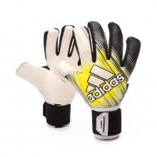 Glove Classic Pro FS Black-Solar yellow-White