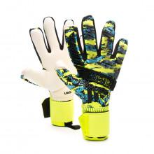 Luvas Predator Pro MN Solar yellow-Bright cyan-Black