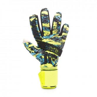 Guante adidas Predator Pro MN Solar yellow-Bright cyan-Black