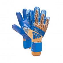 Luvas Predator Pro Gold metallic-Football blue