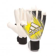Glove Classic Pro FT Black-Solar yellow-White