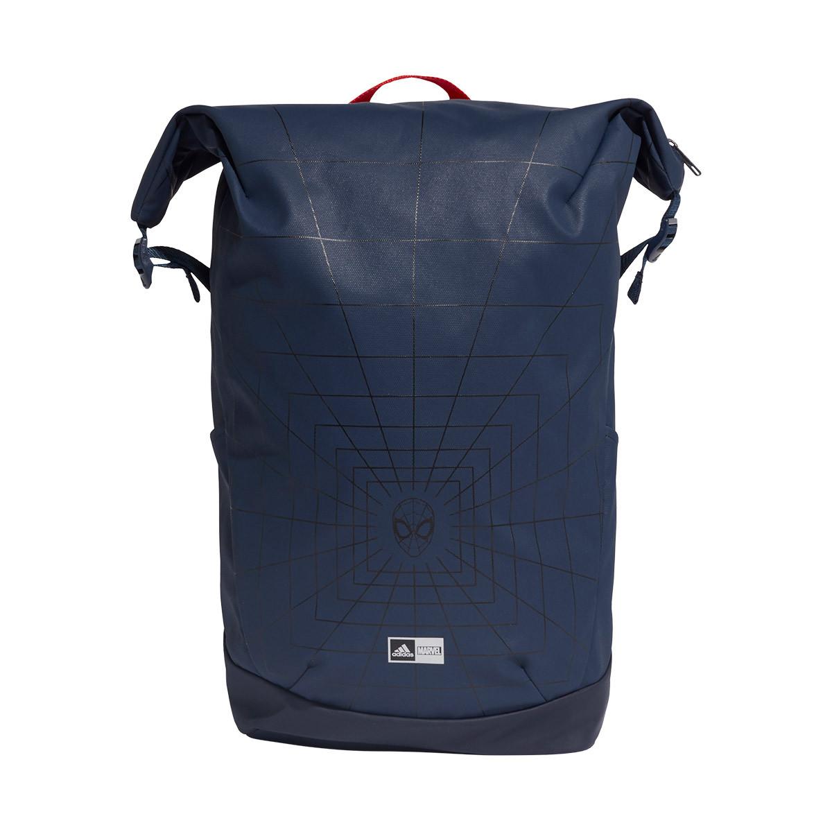 Escoger calidad vaso  Backpack adidas Spiderman BP Collegiate Navy-Silver - Football store Fútbol  Emotion